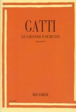Gatti, N. : 22 grandi esercizi, per Fagotto