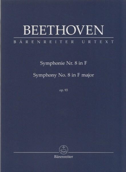 Beethoven, L. van : Sinfonia n. 8 op. 93. Partitura tascabile. Urtext