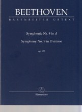 Beethoven, L. van : Sinfonia n. 9 op. 125 in re minore, partitura tascabile. Urtext