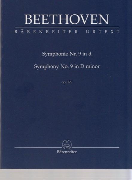 Beethoven, L. van : Sinfonia n. 9 op. 125 in re minore, partitura tascabile. Urtext
