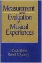 Boyle, J.D. - Radocy, R.E. : Measurement and evaluation of musical experiences