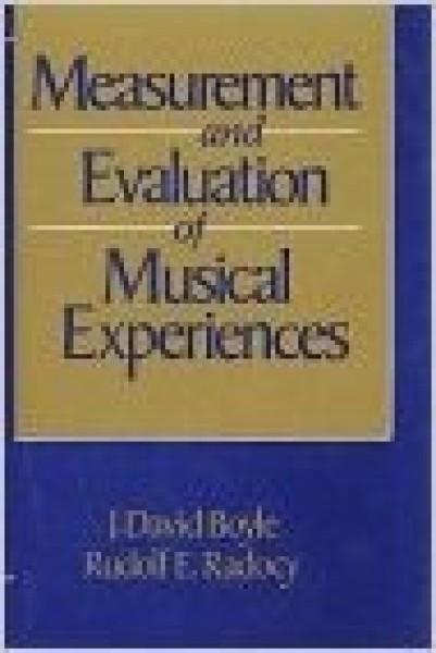 Boyle, J.D. - Radocy, R.E. : Measurement and evaluation of musical experiences