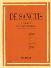 De Sanctis, C. : La polifonia nell'arte moderna spiegata secondo i principi classici. Vol. II