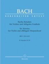 Bach, J.S. : Sei Sonate per Violino e Clavicembalo, vol. II. Urtext