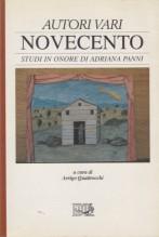 AA.VV. : Novecento. Studi in onore di Adriana Panni