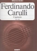 Carulli, F. : Capriccio per Chitarra