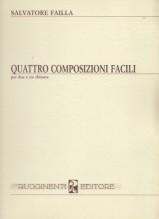 Failla, S. : Quattro composizioni facili per 2 e 3 Chitarre