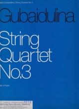Gubaidulina, S. : Quartetto per Archi nr. 3. Set parti