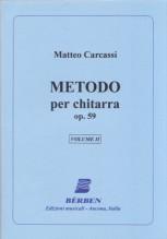 Carcassi, M. : Metodo per Chitarra op. 59, vol. II