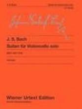 Bach, J.S. : Six Suites for Violoncello solo BWV 1007-1012. Urtext