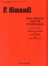 Simandl, F. : New method for the double bass, vol. I