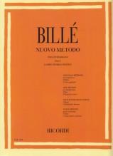 Billè, J. : Nuovo metodo per Contrabbasso, parte I, vol. 1: corso teorico-pratico
