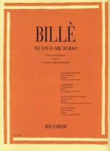 Billè, J. : Nuovo metodo per Contrabbasso, parte I, vol. 4: corso complementare