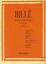Billè, J. : Nuovo metodo per Contrabbasso, parte II, vol. 4: corso normale