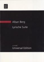 Berg, A. : Suite Lirica per quartetto d'archi. Partitura tascabile
