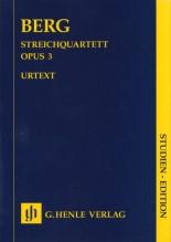 Berg, A. : Quartetto d'Archi. Partitura tascabile. Urtext