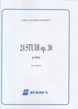 Andersen, J. : 24 Studi op. 30, per Flauto