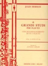 Herman, J. : Sei grandi studi dai 12 studi op. 66, per Flauto con accompagnamento di un II Flauto