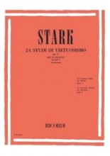 Stark, Robert : 24 Studi di virtuosismo op. 51 per Clarinetto, vol. I  (Garbarino)