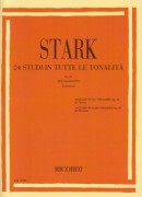 Stark, R. : 24 Studi op. 49 in tutte le tonalità, per Clarinetto