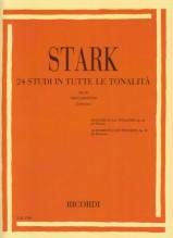 Stark, Robert : 24 Studi op. 49 in tutte le tonalità, per Clarinetto
