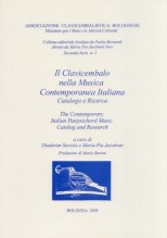 AA.VV. : Il Clavicembalo nella Musica Contemporanea italiana. Catalogo e ricerca