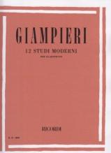 Giampieri, Alamiro : 12 Studi moderni, per Clarinetto
