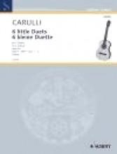 Carulli, F. : 6 Piccoli duetti, op. 34 vol. I (1-3), per 2 Chitarre