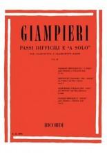 AA.VV. : Passi difficili e a solo per Clarinetto e Clarinetto basso, vol. II