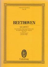 Beethoven, L. van : Quartetto d'Archi op. 133. Partitura tascabile