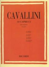 Cavallini, E. : 30 Capricci per Clarinetto