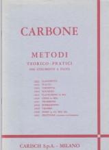 Carbone, E. : Metodi teorico-pratici per strumenti a fiato: Clarinetto