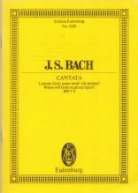 Bach, J.S. : Cantata BWV 8. Partitura tascabile