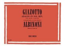 Giazotto, R. : Adagio in sol minore. Su due spunti tematici e su un basso numerato di Tommaso Albinoni