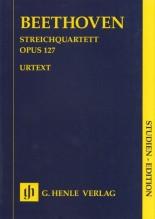 Beethoven, L. van : Quartetto d'archi op. 127, partitura tascabile. Urtext