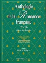 AA.VV. : Anthologie de la Romance francaise (1795-1815), per Canto e Pianoforte