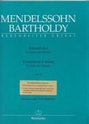Mendelssohn, F. : Concerto op. 64 in mi minore, per Violino e Pianoforte. Urtext