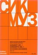 Shostakovich, Dmítrij : Concerto nr. 1 op. 107, per Violoncello e Orchestra. Partitura tascabile