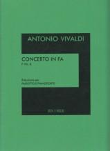 Vivaldi, A. : Concerto in fa per Fagotto, Archi e Clavicemablo, F VIII, n. 8. Riduzione per Fagotto e Pianoforte