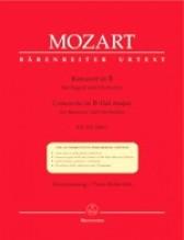 Mozart, Wolfgang Amadeus : Concerto KV 191, riduzione per Fagotto e Pianoforte. Urtext