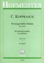 Kopprasch, C. : 60 Studi per Trombone, vol. I