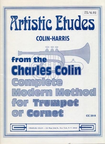 Colin, C. : Artistic etudes per tromba