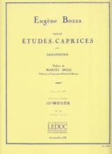 Bozza, E. : 12 Studi-Capricci, per Sassofono