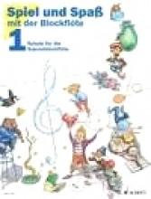 AA.VV. : Suonare e diverstirsi con il Flauto dolce soprano, vol. I. Testi in tedesco