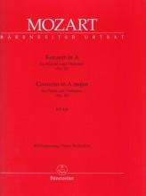 Mozart, Wolfgang Amadeus : Concerto in la per Pianoforte e Orchestra KV 414, riduzione per 2 Pianoforti. Urtext