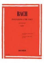 Bach, J.S. : Invenzioni a tre voci per Pianoforte