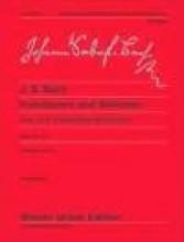 Bach, Johann Sebastian : Invenzioni a due voci; Invenzioni a tre voci  per Clavicembalo. Urtext