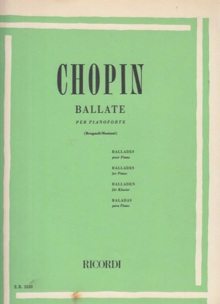 Chopin, F. : Ballate per Pianoforte