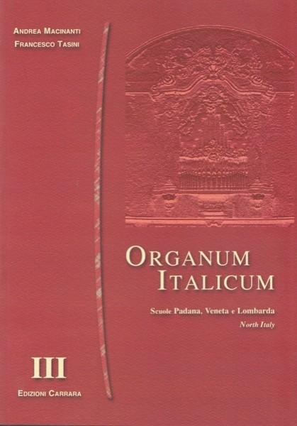 AA.VV. : Organum italicum, vol. III. Scuole padana, veneta e lombarda