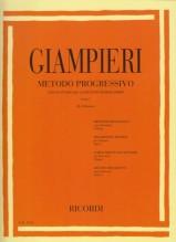 Giampieri, Alamiro : Metodo progressivo per lo studio del Clarinetto Bohm, vol. I